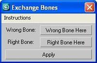 Free Exchange Bone Weights for 3dsmax 1.0.0 (3dsmax script)