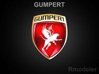 Gumpert 3d Logo 3D Model