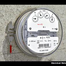 Electrical Meter 3D Model