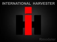 IH 3d Logo 3D Model