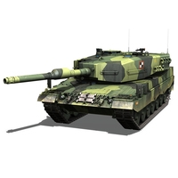 Stridsvagn 121 - Swedish Army 3D Model