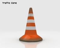Road Traffic Cone  3D Model