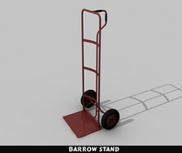 Barrow Stand 3D Model