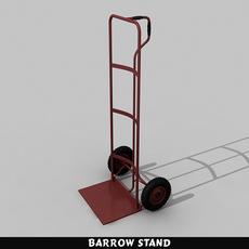 Barrow Stand 3D Model