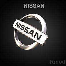 Nissan 3d Logo 3D Model