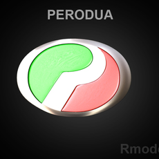 Perodva 3d Logo 3D Model