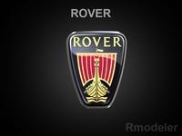 Rover 3d Logo 3D Model