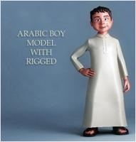 Arabic Boy 3D Model