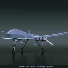 Predator Drone 3D Model