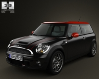 Mini John Cooper Works Clubman 2011 3D Model
