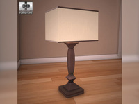Ashley Laine Table Lamp 3D Model