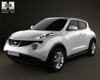 Nissan Juke 2011 3D Model