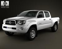 Toyota Tacoma Double Cab 2011 3D Model