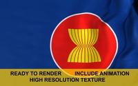 Association of Southeast Asian Nations 3D Model