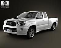 Toyota Tacoma XRunner 2011 3D Model