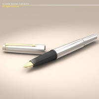 Fountain pen 3D Model