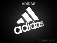 Adidas 3d Logo 3D Model