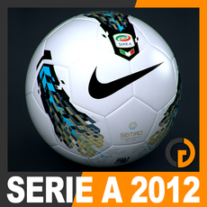 2011 2012 Lega Calcio Serie A Tim Match Ball 3D Model