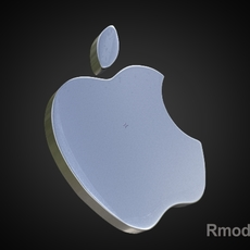 Apple 3d Logo 3D Model