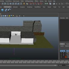 Minecraft scene for Maya 2.0.0