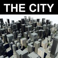 Random City 3D Model
