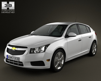 Chevrolet Cruze hatchback 2012 3D Model