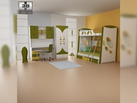 Nursery room 07 Set 3D Model