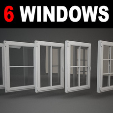 6 Windows 3D Model