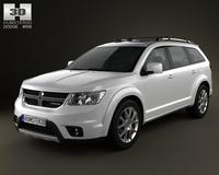 Dodge Journey 2011 3D Model