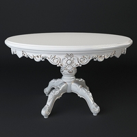 Classic table - High quality 3D Model
