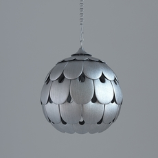 Contemporary Ceiling Light Fixture 3D Model