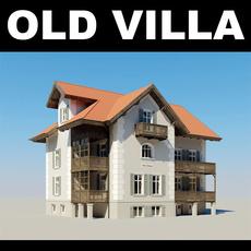 Old Villa 3D Model