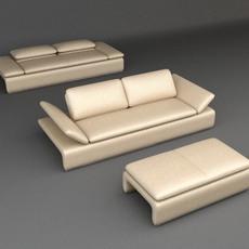 Sofa 6 3D Model