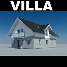 Villa 3D Model
