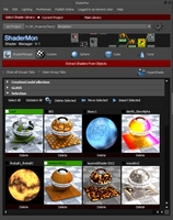 Free ShaderMonger - Shader Manager and library (limited version) for Maya 1.1.2 (maya script)