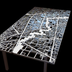Table New Baghdad Edra Ezri Tarazi 3D Model