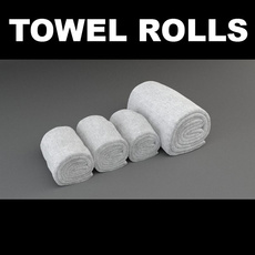 Towel Rolls 3D Model
