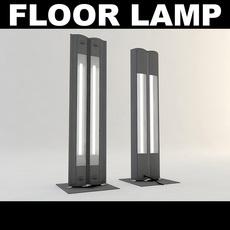 Floor Lamp 2 3D Model