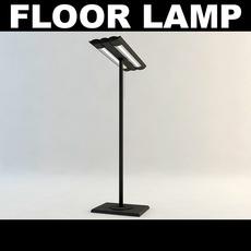 Floor Lamp 1 3D Model