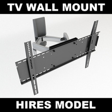 TV Wall Mount 3D Model
