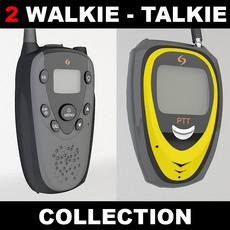Walkie Talkie Set 3D Model