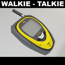 Walkie Talkie 2 3D Model
