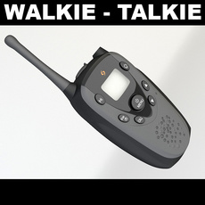 Walkie Talkie 1 3D Model