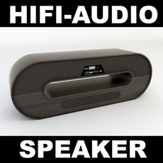 Audio Speaker 2 3D Model