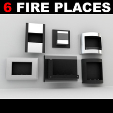 Fireplace Collection 3D Model