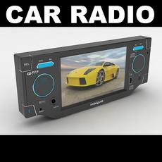 Car Radio 3 3D Model