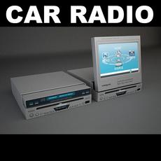 Car Radio 2 3D Model