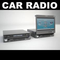 Car Radio 1 3D Model