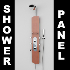 Shower Panel 1 3D Model