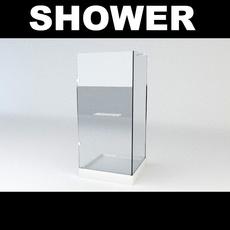 Shower 4 3D Model